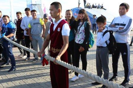 Айдос Халыкназаров стал победителем турнира по казакша-курес в рамках «Aktau Open Fest»