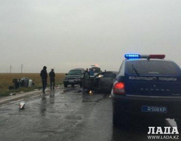 В ДТП на трассе Жанаозен - Жетыбай погибли четыре человека