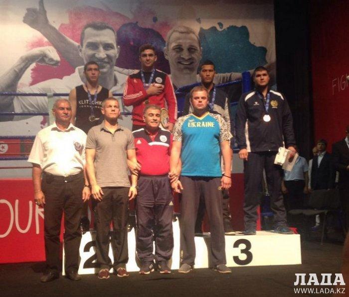 Айболды Дауренулы из Актау завоевал бронзовую медаль на международном турнире по боксу в Украине