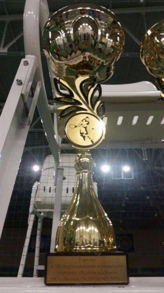 Команда из Актау завоевала «Кубок вызова» на международном турнире по теннису в Актобе