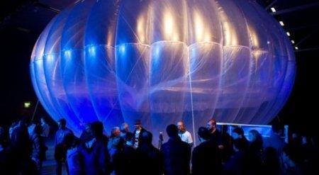 В Google раскрыли планы по подключению всего мира к Интернету через воздушные шары