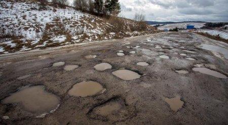 Дороги в Казахстане оказались хуже, чем в Зимбабве