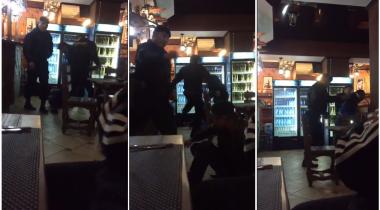 Вооруженные люди в форме избили посетителей кафе в Павлодаре