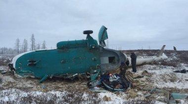 Среди погибших в результате крушения вертолета в России были двое казахстанцев