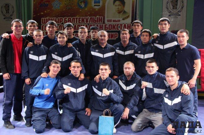 Боксеры из Мангистау завоевали четыре золотые медали на международном турнире по боксу памяти Шокыра Болтекулы