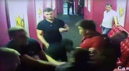 Драка в ночном клубе в Алматы попала на видео