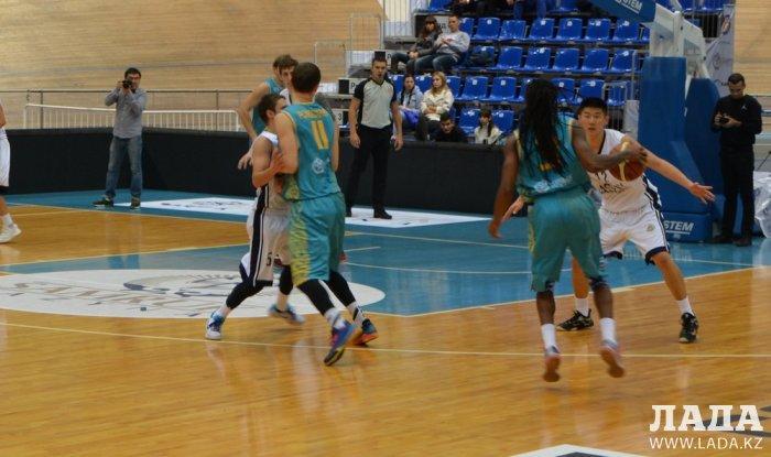 Баскетбольный клуб «Каспий» вновь уступил «Астане»