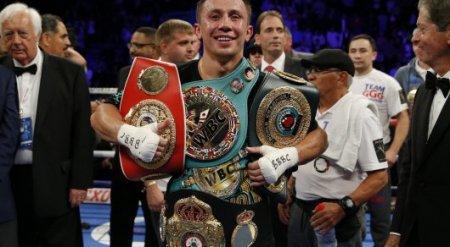 Головкина признали самым устрашающим боксером в мире