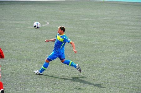 Футбольный клуб «Каспий» обыграл команду из Жетысая со счетом 3:0