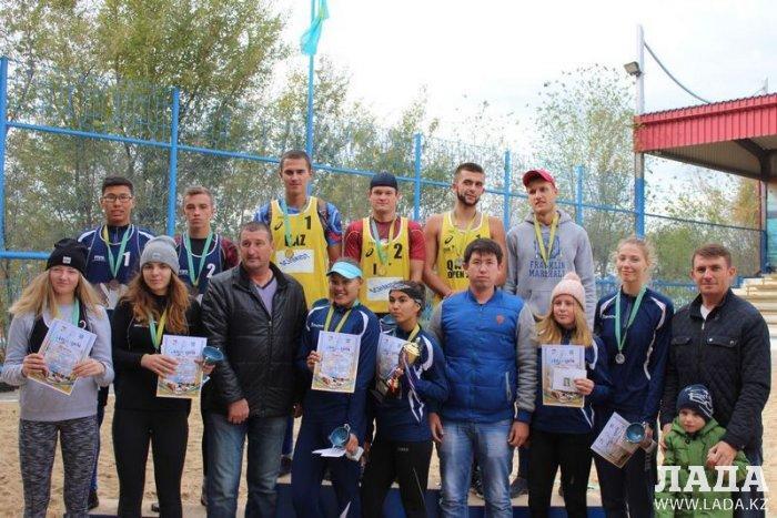 Определились победители чемпионата Мангистауской области по пляжному волейболу