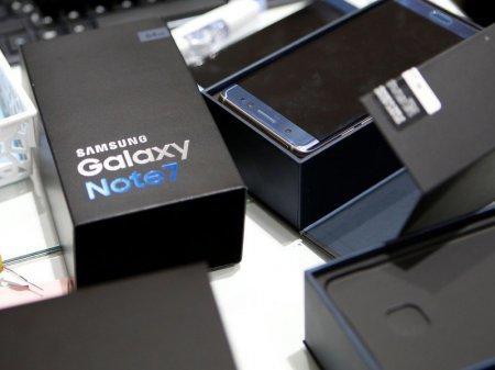 Казахстанцы могут обменять на деньги Samsung Galaxy Note 7
