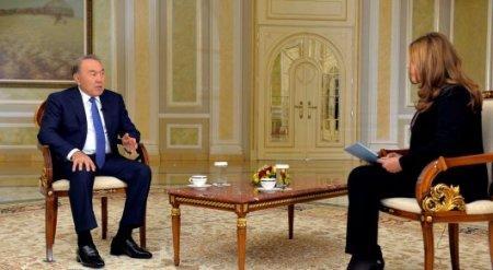 Назарбаев обсудил сирийский вопрос с журналистами телеканала CNBC Arabia