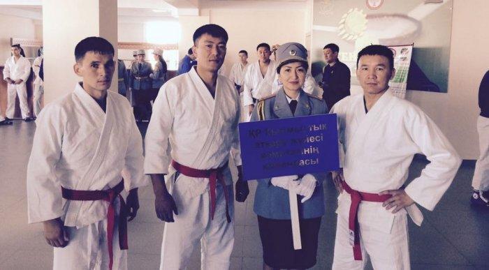 Команда ДВД Мангистауской области стала победителем чемпионата МВД РК по рукопашному бою