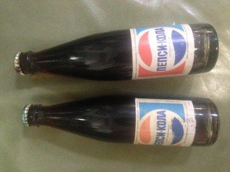 Алматинец продает купленную на eBay бутылку советской Пепси-Колы