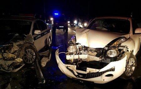 ДВД Мангистау: По факту ДТП с участием полицейской машины и Nissan Juke назначены две экспертизы