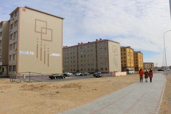 Как идет строительство новых микрорайонов Актау