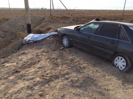 Один человек погиб и пятеро пострадали в ДТП на трассе Актау - Жетыбай