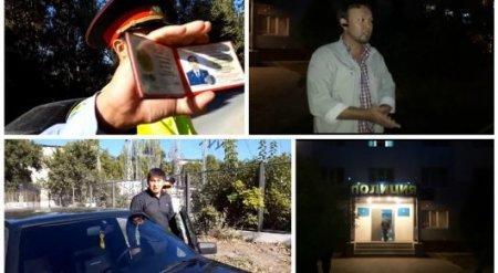 """ДВД отреагировал на скандальный ролик с участием полицейских и """"чабана"""""""
