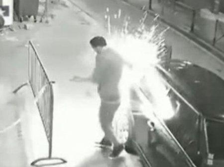 Опубликовано видео взрыва электронной сигареты в кармане курильщика