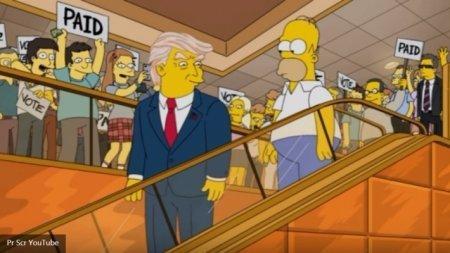 Симпсоны предсказали победу Трампа еще 16 лет назад