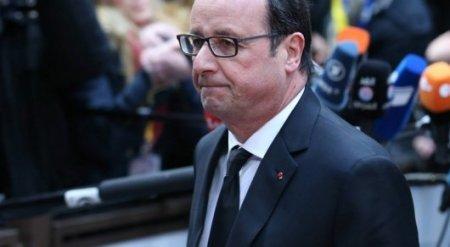 Правительство Франции получило проект резолюции об импичменте Олланда
