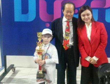Шестилетний казахстанец выиграл турнир по ментальной арифметике в Дубае