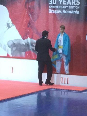 Спортсмен из Актау завоевал «бронзу» на чемпионате мира по ашихара-каратэ в Румынии