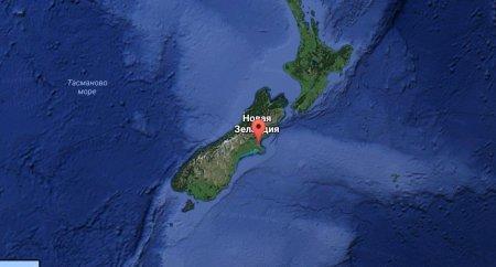 Мощное землетрясение в Новой Зеландии вызвало цунами