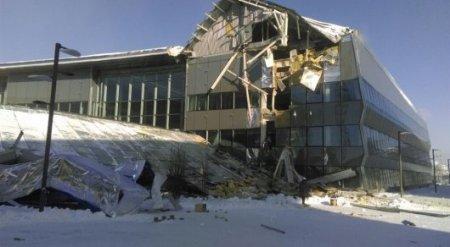 Конструкция обрушилась на территории EXPO-2017 в Астане