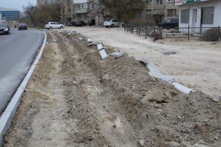 В Актау на установку гранитных бордюров выделено более 123 миллионов тенге