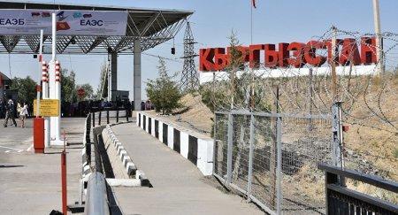 Приостановлена работа пункта пропуска на казахстанско-кыргызской границе
