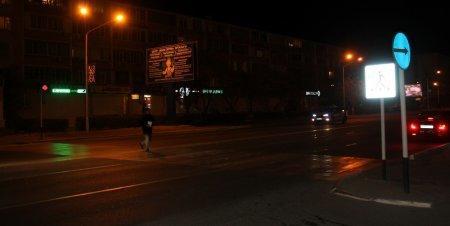 В Актау на пешеходном переходе автомобиль сбил мужчину