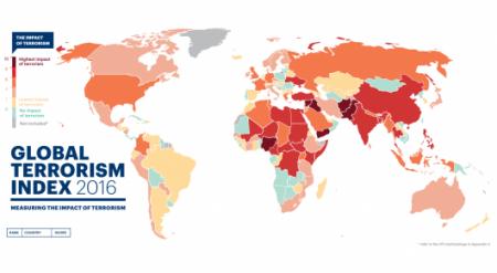 Казахстан занял 94-е место из 130 в индексе терроризма