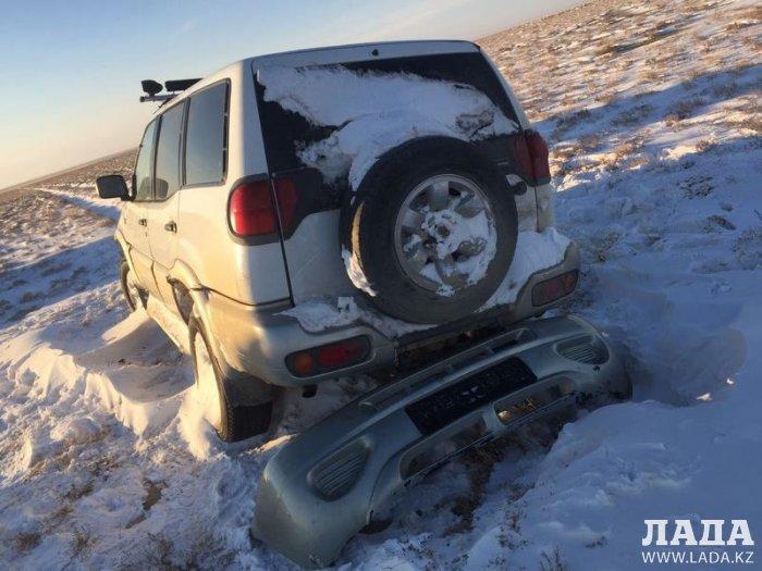 Гульнара Ходжабекова: Сведений о пострадавших от гололеда и морозов на траcсах Мангистау водителях не поступало