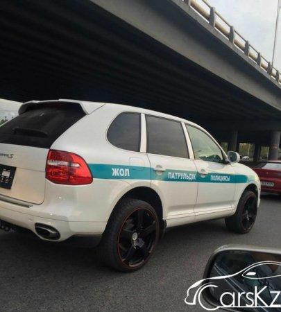 Какие конфискованные авто перешли полицейским в РК