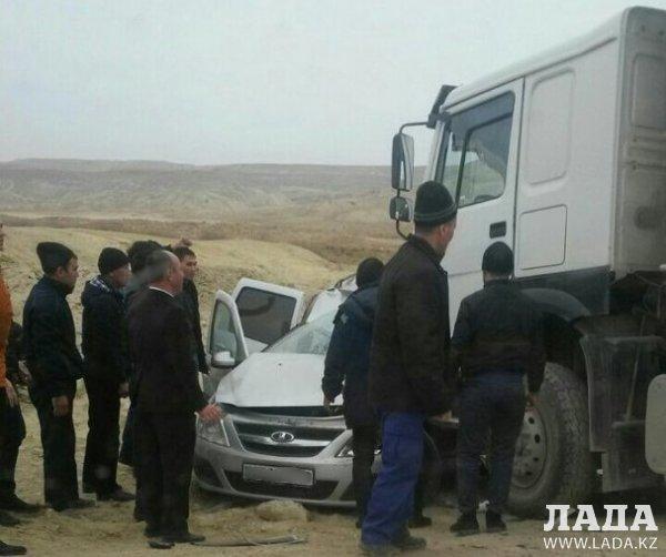 Смертельное ДТП произошло на трассе Актау - Жетыбай