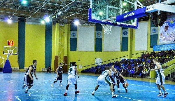 Баскетбольный клуб «Каспий» дважды уступил «Барсам Атырау»
