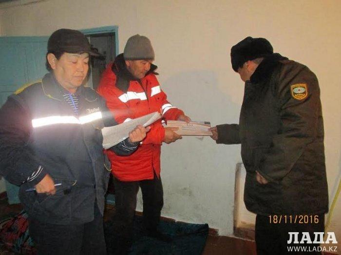 Пожарные Актау провели акцию «Жилье-2016»