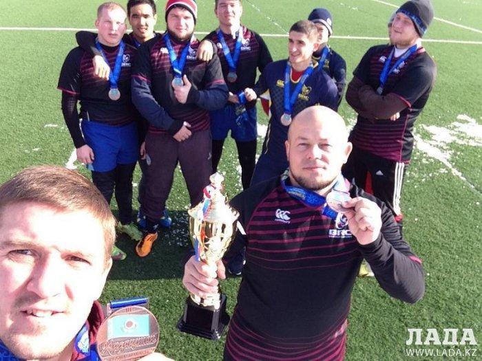 Регбисты из Актау стали бронзовыми призерами чемпионата Казахстана