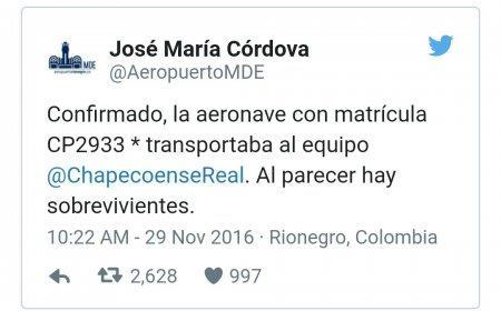 СМИ сообщили о 10 выживших в крушении самолёта в Колумбии