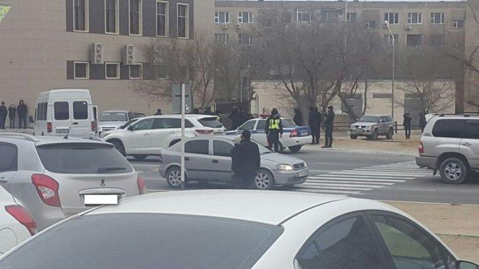 Жазира Абил: В Актау задержали автомобиль с крупной партией травы, похожей на марихуану
