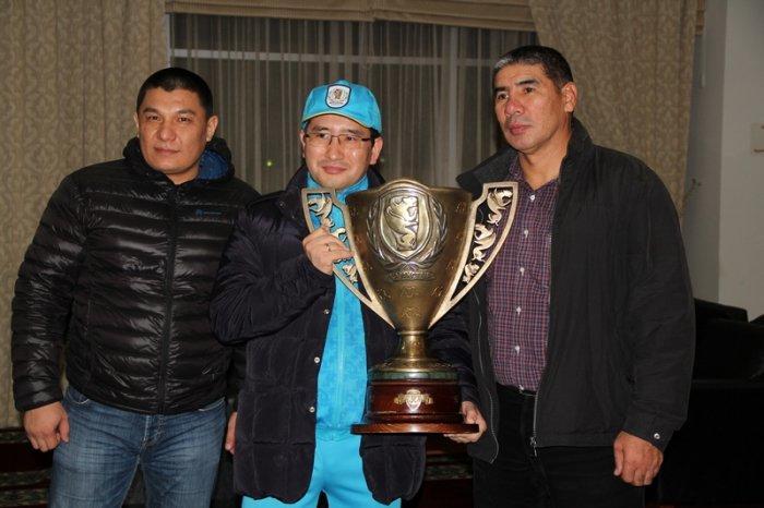 Марат Джакиев: Кубок Конфедерации мы выиграли благодаря сплоченности команды