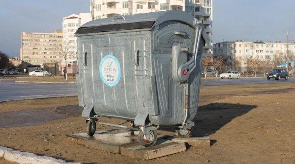 В Актау планируют установить тысячу новых мусорных контейнеров