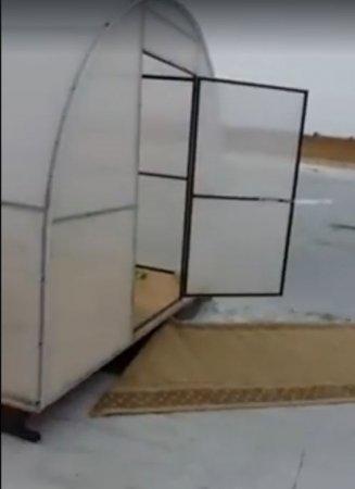 Красиво жить не запретишь: атырауские агашки рыбачат на коврах