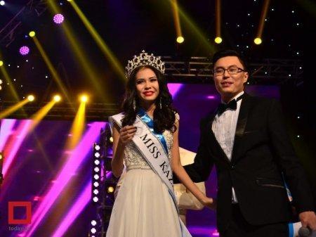 Самой красивой девушкой Казахстана признана Гульбану Азимханова