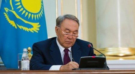 Назарбаев подписал закон об амнистии