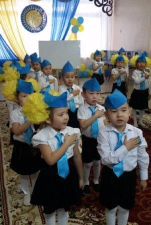 Подарок дошкольников Независимости!