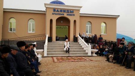 В Мангистауской области открыли две мечети