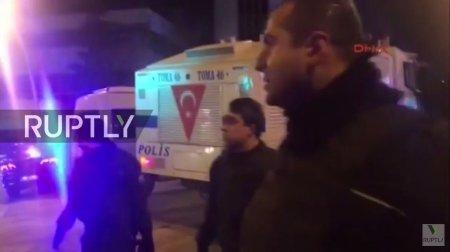 Трансляция с места покушения на российского посла в Турции