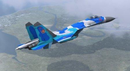 Истребитель Су-27 потерпел крушение в Казахстане